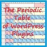 Популярные плагины - Периодическая таблица плагинов WordPress