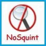 Расширение NoSquint для Firefox