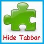 Как скрыть открытые вкладки - расширение Hide Tabbar для Firefox