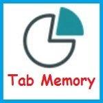 Использование памяти вкладками, открытыми в Firefox