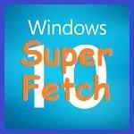 Отключение службы SuperFetch